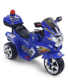Battery Operated Electronic Ride On Bike - Blue