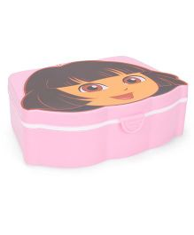 Jewel Tiffin Box With Dora Print - Pink