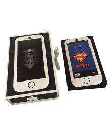 Iphone Dad Handmade Photo Album  - Black White