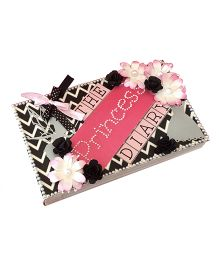 Crack of Dawn Princess Diary Birthday Photo Album  Pink Black