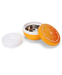 Jewel Frutina Lunch Box With Orange Print - Orange