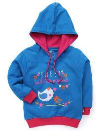 Bodycare Full Sleeves Hooded Sweatshirt - Royal Blue