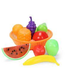 Ratnas Fruit Basket Multicolor Orange - 12 Pieces