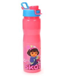 Jewel Cool Quench Dora Insulated Water Bottle Pink - 460 ml