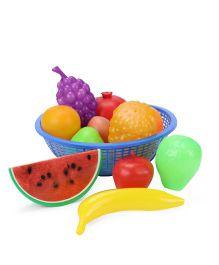 Ratnas Fruit Basket Multicolor Blue - 12 Pieces