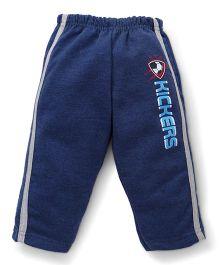 Cucumber Track Pant Kickers Print - Dark Blue