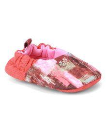 Ivee Multi Print Booties - Pink