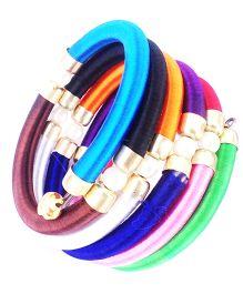 Akinos Kids Spiral Kada Style Bracelet - Multicolour