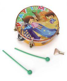 Mansaji Toy Dafli With Sticks - Green Yellow