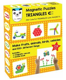 Play Panda Magnetic Puzzles Triangles - 250 Magnets
