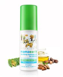 mamaearth Soothing Massage Oil For Babies - 100 ml