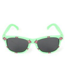 Kids Wayferar Sunglasses Arrows Print - Green