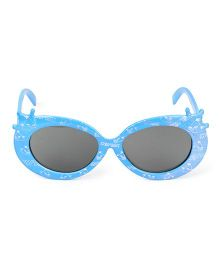 Kids Cat Eye Sunglasses Floral Print - Blue