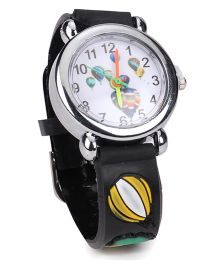 Stol'n Analog Wrist Watch - Black