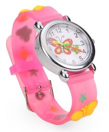 Stol'n Analog Wrist Watch - Pink