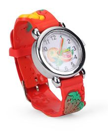 Stol'n Analog Wrist Watch - Red