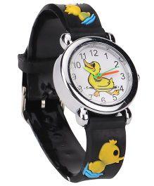 Stol'n Analog Wrist Watch - Black