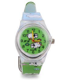 Stol'n Analog Wrist Watch - Green Blue