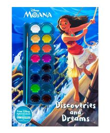 Disney Moana Discoveries and Dream - English