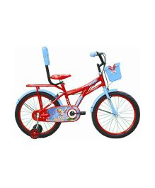 Avon Dusty Bicycle With Trainer Wheels 20T - Red And Blue