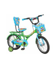 Avon Rabbit Bicycle With Trainer Wheels 16T - Blue & Green