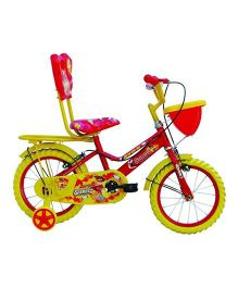 Avon Sunny Bicycle With Trainer Wheels 14T - Yellow