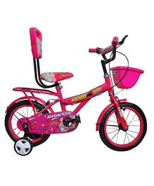 Avon Bob Bicycle With Trainer Wheels 14T - Pink