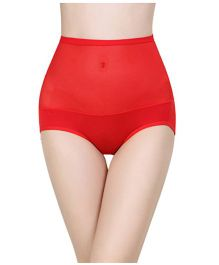 Aaram Bamboo Panty Tummy Tucker - Rose Red