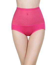 Aaram Bamboo Panty Tummy Tucker - Dark Pink