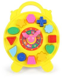 Ratnas Educational Puzzle Clock - Yellow