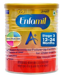 Enfamil A With DHA Stage 3 Follow Up Formula - 400 gm