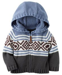 Carter's Infant Hooded Jacket - Multicolor