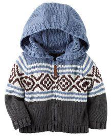 Carter's Infant Hooded Jacket - Multicolor