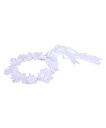 Anaira Floral Tiara Rose - White