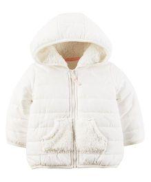 Carter's Infant Jacket - Ivory