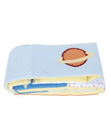 Babyoye Single Bumper Rising Star Design - Multicolor