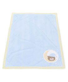 Abracadabra Plush Luxury Blanket - Blue Green