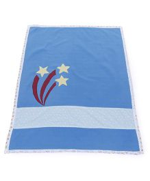 Babyoye Fleece Blanket - Blue