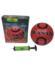 Wasan Football With Pump - Size 5