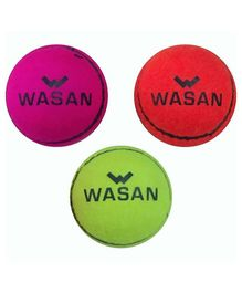 Wasan Tennis Cricket Ball - Pack Of 3