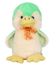 Ultra Atlantic Penguin Soft Toy Green - 28 cm