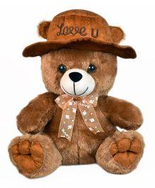Ultra Cap Teddy Soft Toy Brown - 22.86 cm