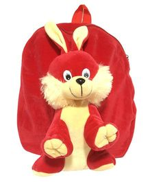 Ultra Animal Bunny School Bag Red - 12 Inches