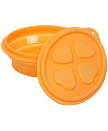 Fab N Funky Heart Design Lunch Box with Lid
