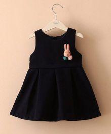 Pre Order - Mauve Collection Cute Winter Dress - Black