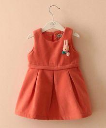 Pre Order - Mauve Collection Cute Winter Dress - Orange