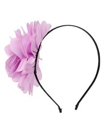 Party Princess Hairband With Flower - Pink