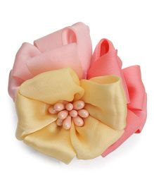 Party Princess Clip With Flower - Multicolor