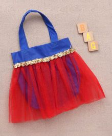 Party Princess Tutu Bag - Red & Blue