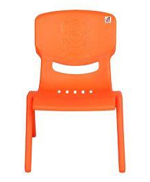 Abhiyantt Bear Shape Chair - Orange